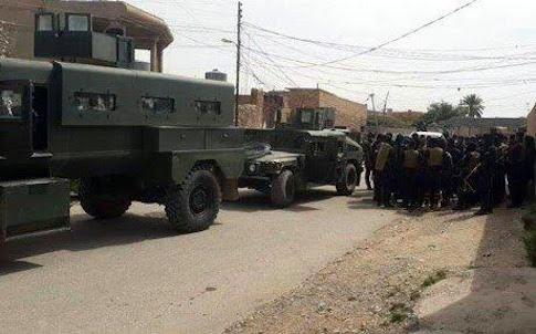 Kurdish tanks / Courtesy of Turkmen Rescue Foundation