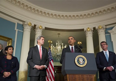 President Obama Meets With National Security Council - Washington