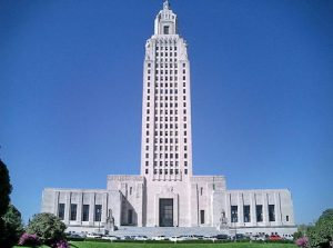 Louisiana State Capitol Building / Wikimedia Commons