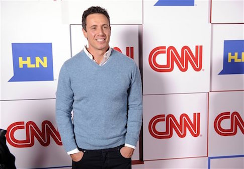 """CNN anchor Chris Cuomo was seen drinking before crashing during a """"drag race"""" last month."""