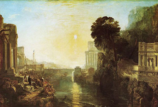 'Dido Building Carthage' by J.M.W. Turner (1815)