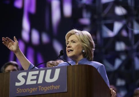 Hillary Clinton SEIU