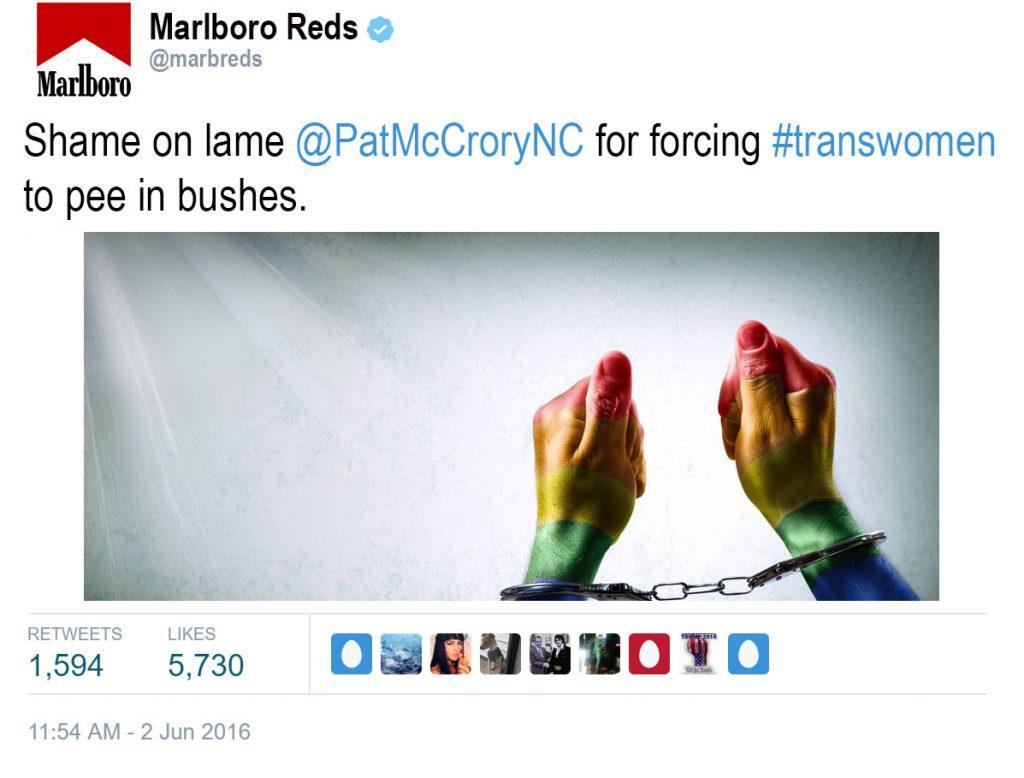Marlboro Tweet