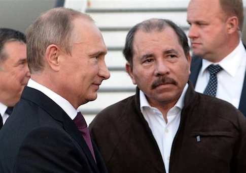 Vladimir Putin, Daniel Ortega