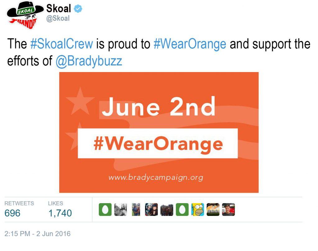 Skoal Tweet
