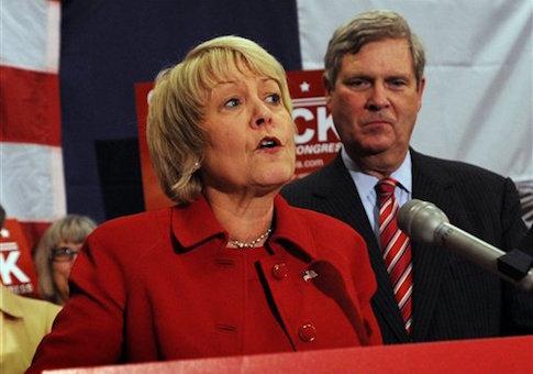 Christie Vilsack and Tom Vilsack