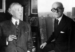 Frank Lloyd Wright, Philip Johnson