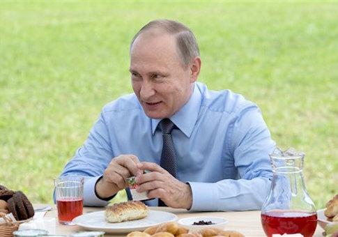 Russian President Vladimir Putin's working trip to Tver Region