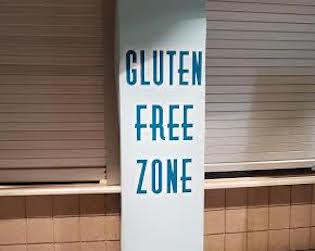 gluten free zone
