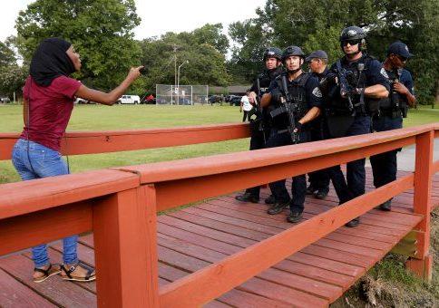 Protests Over Shootings Block Roads in U S  Cities, Arrests Made
