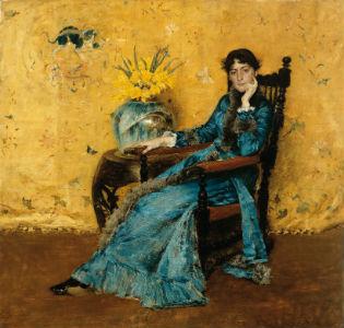 'Portrait of Dora Wheeler' by William Merritt Chase / The Cleveland Museum of Art