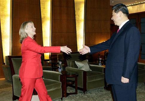 State Hillary Clinton, Xi Jinping