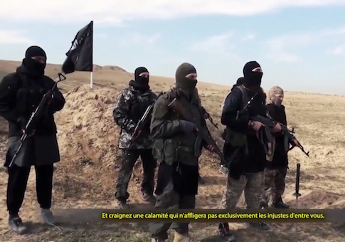 French ISIS Fighters Send A Video On Internet - Syria