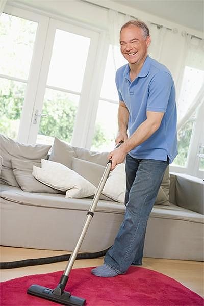 Kaine Vacuuming