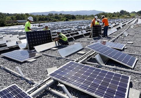 VA solar panels