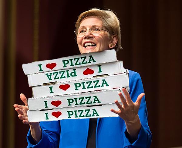 Warren Orders a Pizza