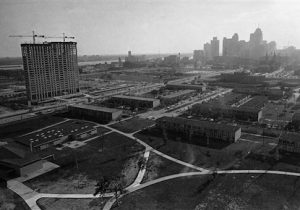 Downtown Detroit in 1963
