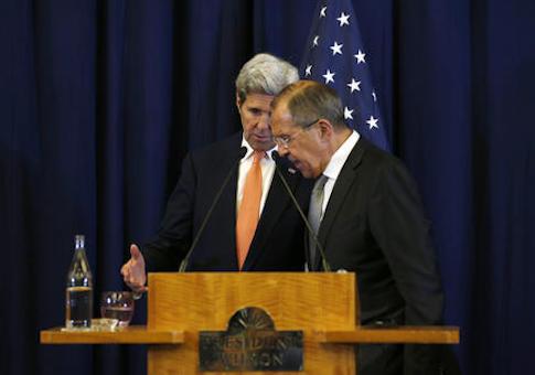 John Kerry,Sergei Lavrov