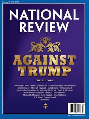 Against Trump NRO cover