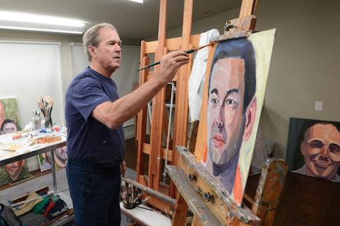 Fantastic painter George W. Bush / Instagram