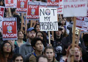 Trump protest in Washington /