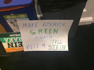 Jill Stein poster