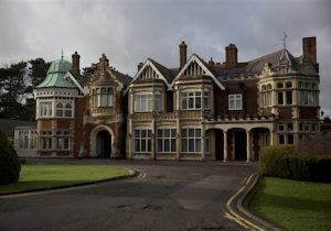 The mansion house at Bletchley Park