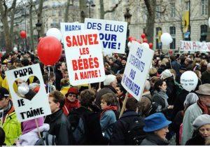PARIS: March against abortion