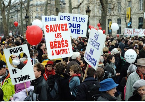 PARIS: March against abortion