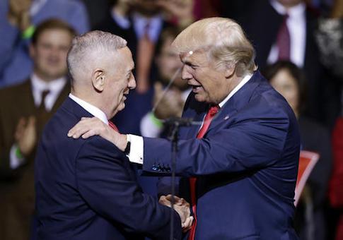 Donald Trump,James Mattis