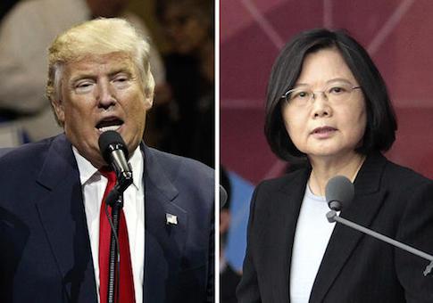 Donald Trump,Tsai Ing-wen