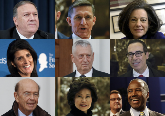 Donald Trump's Team of Outsiders