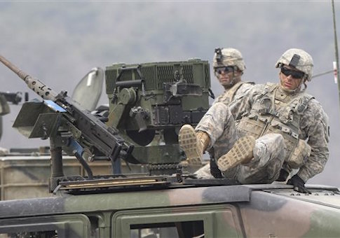 South Korea US Military Exercise