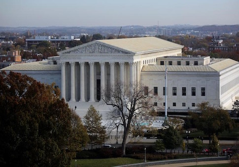 A general view of the U.S. Supreme Court building
