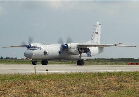 An An-26 airplane