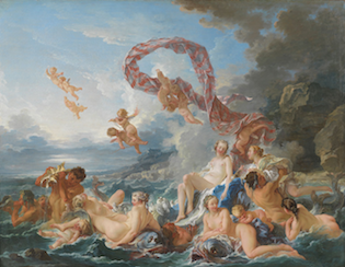 'The Triumph of Venus' by François Boucher