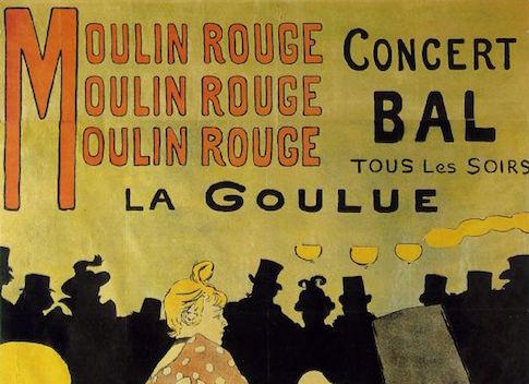 Toulouse-Lautrec Moulin Rouge