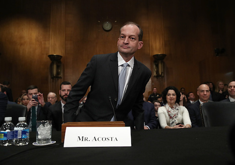 Labor Secretary nominee Alexander Acosta