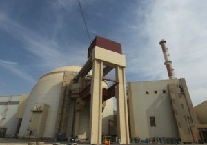 The reactor building at the Bushehr nuclear power plant in southern Iran