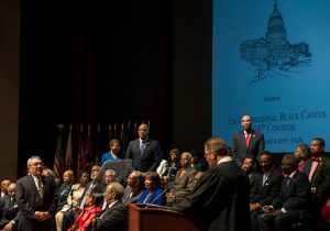 The Congressional Black Caucus Foundation hosts a swearing-in ceremony for current and newly-elected members of the114th Congress