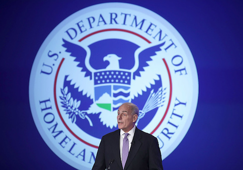 U.S. Homeland Security Secretary John Kelly
