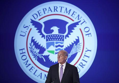 U.S. Homeland Security Secretary John Kelly