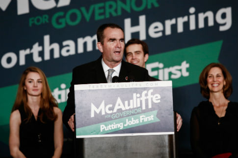 Virginia governor candidate Ralph Northam / Getty