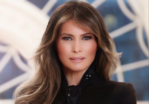 First Lady Melanie Trump White House portrait / Twitter