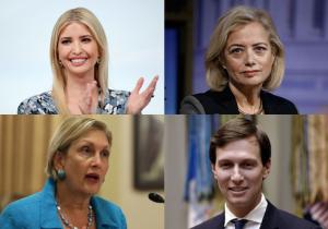 Ivanka Trump, Hillary Rosen, Jamie Gorelick, Jared Kushner