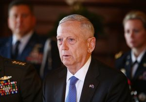 Secretary of Defense James Mattis
