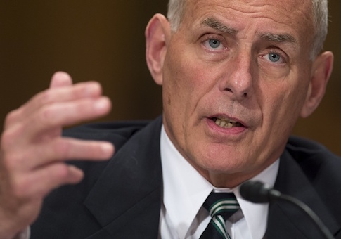 US Secretary of Homeland Security John Kelly