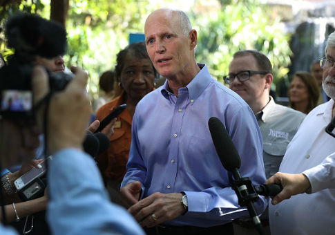 photo image Rick Scott Blasts Bill Nelson for Russian Hacking Claim: 'Not Something to Try to Scare People About'