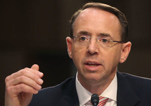 Deputy AG Rod Rosenstein / Getty Images