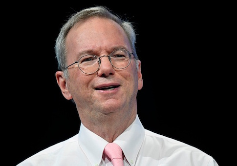 Executive Chairman Alphabet Inc. Eric Schmidt